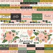 Fleur Sticker Sheet - KaiserCraft