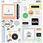 "A Case Of The Blahs Stickers 5.5""X11"" - Pinkfresh"