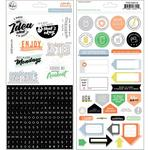 Cardstock Stickers - A Case Of The Blahs - Pinkfresh