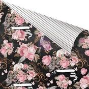 Dark Florals Paper - Amelia Rose - Prima