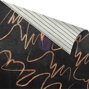 Lovely Scribbles Gold Foiled Paper - Amelia Rose - Prima