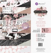 Amelia Rose 12 x 12 Paper Pad - Prima - PRE ORDER