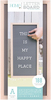 """Natural W/Gray Insert - DCWV Framed Letterboard 10""""X20"""""""