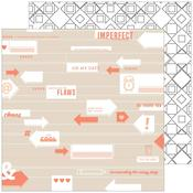 Imperfect Paper - A Case Of The Blahs - Pinkfresh