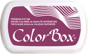 Burgundy - ColorBox Premium Dye Ink Pad