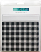 """Plaid Background - Concord & 9th Clear Stamps 6""""X6"""""""