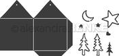 "Folding Houses 5.1""X4"", .78""X.47"" - Alexandra Renke Die"