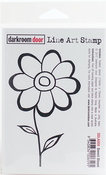 "Sweet Bloom - Darkroom Door Cling Stamp 4.5""X3"""