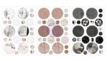 Amelia Rose Circle Stickers - Prima