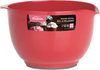 Coral - Melamine Mixing Bowl 2qt The perfect bowl for every recipe, easy to use. It has a no slip bottom and is easy to clean. Dishwasher safe. This package contains one 2qt melamine mixing bowl. Imported.