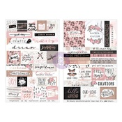 Amelia Rose Word & Quote Stickers - Prima