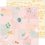 """Whim - Let Your Heart Decide Double-Sided Cardstock 12""""X12""""  - Pinkfresh"""