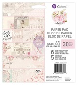 Love Story 6 x 6 Paper Pad - Prima