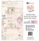 Love Story 8 x 8 Paper Pad - Prima