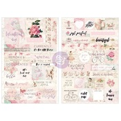 Love Story Quote & Word Stickers - Prima