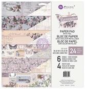 Lavender 12 x 12 Paper Pad - Prima - PRE ORDER