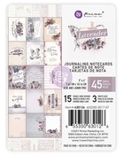 Lavender 3 x 4 Jourlanding Cards - Prima