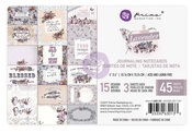 Lavender 4 x 6 Jounraling Cards - Prima