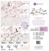 Cherry Blossom 12 x 12 Paper Pad - Prima - PRE ORDER