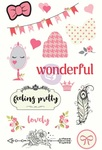 Julie Nutting Chipboard Stickers - Prima