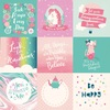 4 x 4 Journaling Cards Paper - Imagine That Girl - Echo Park