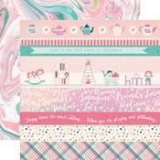 Border Strips Paper - Imagine That Girl - Echo Park