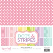 Spring 2018 Dots & Stripes Paper Pack - Echo Park