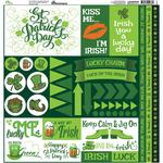 Luck Of The Irish Element Stickers - St Patricks Day 2018 - Reminisce