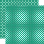 Sea Turtle Dot Paper - Summer 2018 Dots & Stripes - Echo Park - PRE ORDER