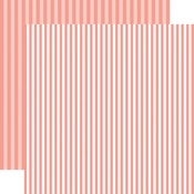 Coral Reef Stripe Paper - Summer 2018 Dots & Stripes - Echo Park