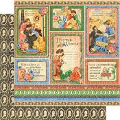 Something Splendid Paper - Little Women - Graphic 45 - PRE ORDER