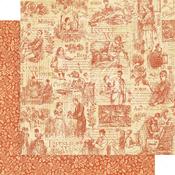 Time to Cherish Paper - Little Women - Graphic 45