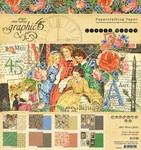 Little Women 8 x 8 Paper Pad - Graphic 45
