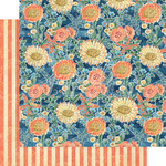 Floating Floral Paper - Sun Kissed - Graphic 45