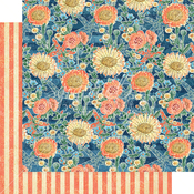 Floating Floral Paper - Sun Kissed - Graphic 45 - PRE ORDER