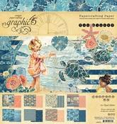 Sun Kissed 8 x 8 Paper Pad - Graphic 45