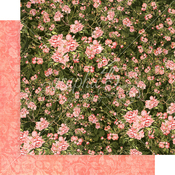 Verdant Blossoms Paper - Floral Shoppe - Graphic 45