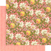 Pink Lilies Paper - Floral Shoppe - Graphic 45