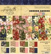 Floral Shoppe 8 x 8 Paper Pad - Graphic 45