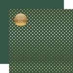Mallard Gold Foil Dot Paper - Spring Gold Foil 2018 - Echo Park