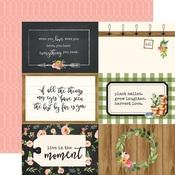 4X6 Journaling Card Paper - Spring Market - Carta Bella