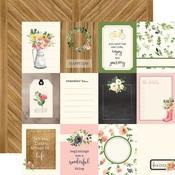3X4 Journaling Card Paper - Spring Market - Carta Bella