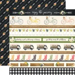 Border Strips Paper - Spring Market - Carta Bella - PRE ORDER