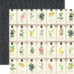 Floral Tags Paper - Spring Market - Carta Bella