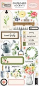Spring Market Chipboard Accents - Carta Bella