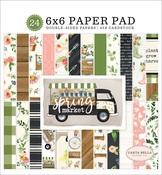 Spring Market 6 x 6 Paper Pad - Carta Bella