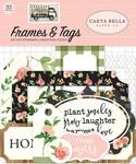 Spring Market Frames & Tags - Carta Bella