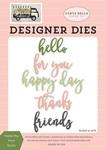 Happy Day Word Die Set - Carta Bella