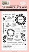 Let Love Bloom Stamp Set - Carta Bella