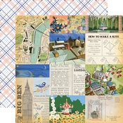 Walk in the Park Paper - Practically Perfect - Carta Bella